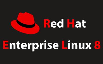Red Hat Enterprise Linux 8 のアイキャッチ画像