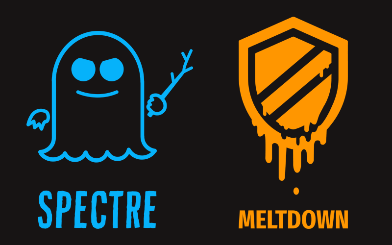 Spectre と Meltdown のロゴ画像